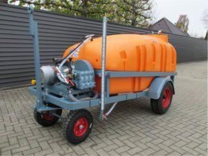 Chariot de pulvérisation